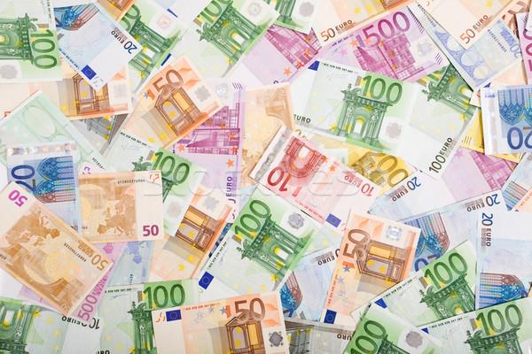 Soldi abbondanza valuta tavola Foto d'archivio © lightkeeper
