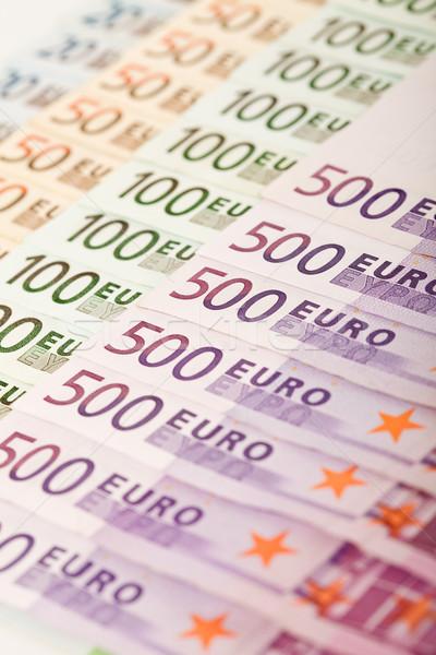 Euro raso negócio compras banco Foto stock © lightkeeper