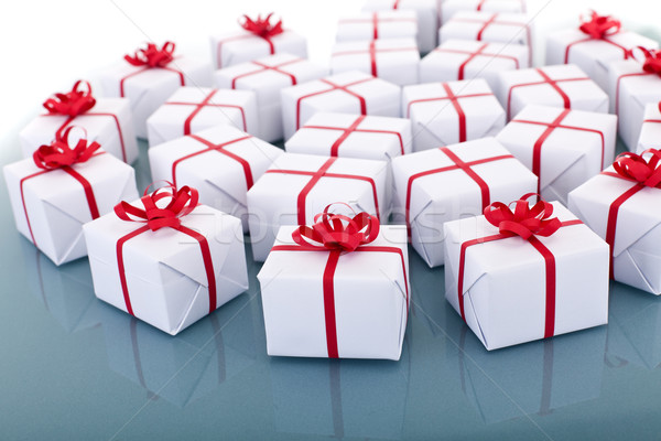 Lots of christmas presents Stock photo © lightkeeper