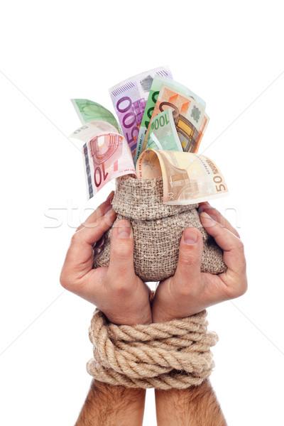 Fonds up Hände Finanzierung Stock foto © lightkeeper