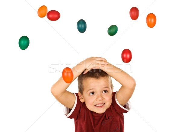 The easter egg attack Stock photo © lightkeeper