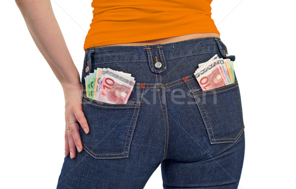 Rich young women Stock photo © lightkeeper