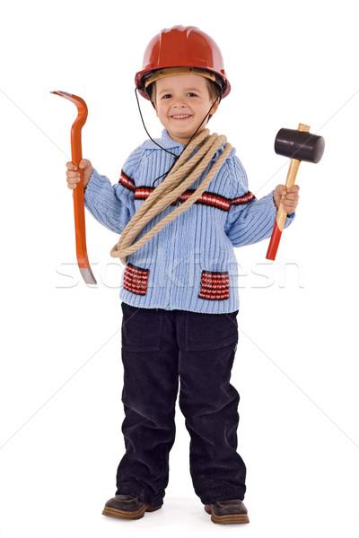 Future construction worker Stock photo © lightkeeper