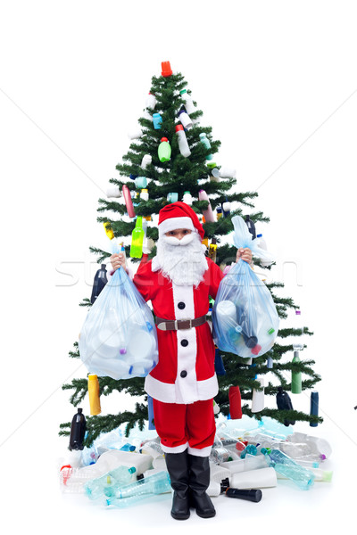 Wasted christmas - environment concept Stock photo © lightkeeper