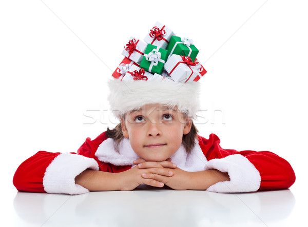 Daydreaming about christmas Stock photo © lightkeeper