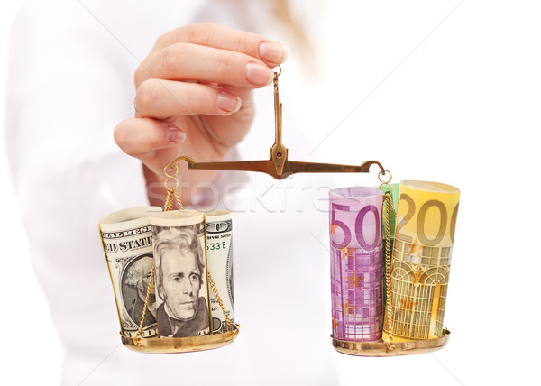 Evaluating currency rate risk Stock photo © lightkeeper