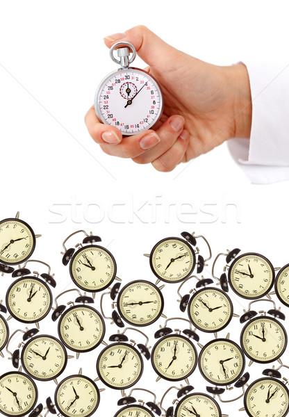 Időbeosztás határidők üzlet óra óra méret Stock fotó © lightkeeper