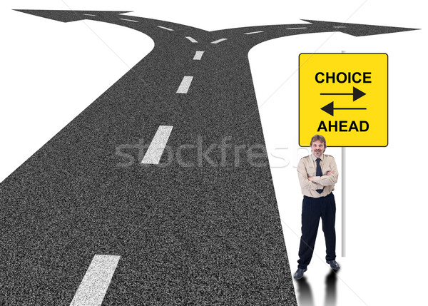 Business choice concept Stock photo © lightkeeper