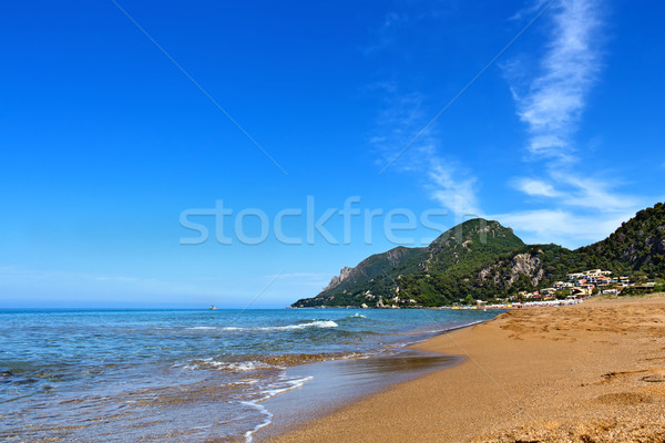 Beach on the greek islands Stock photo © lightkeeper