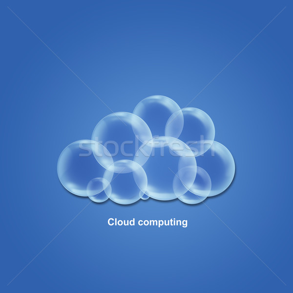 Cloud computing Stock photo © lightkeeper