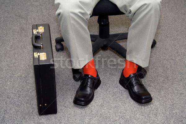 Informal empresario individualidad nuevos silla ejecutivo Foto stock © lightkeeper