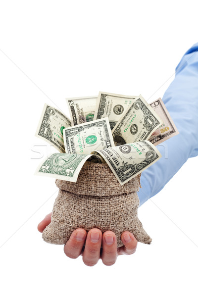 Money given to you as a gift or grant Stock photo © lightkeeper