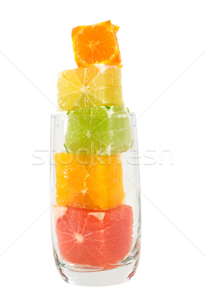Natural fruit juice with high fiber content Stock photo © lightkeeper
