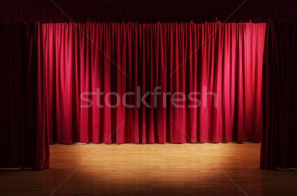 öreg színház jelenet kettő világítás középső Stock fotó © lightkeeper
