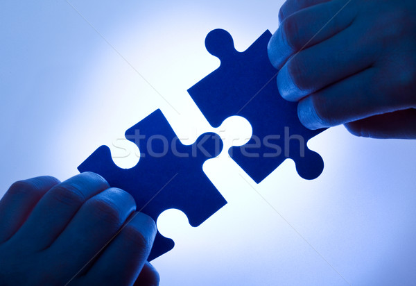 Business values - teamwork concept Stock photo © lightkeeper