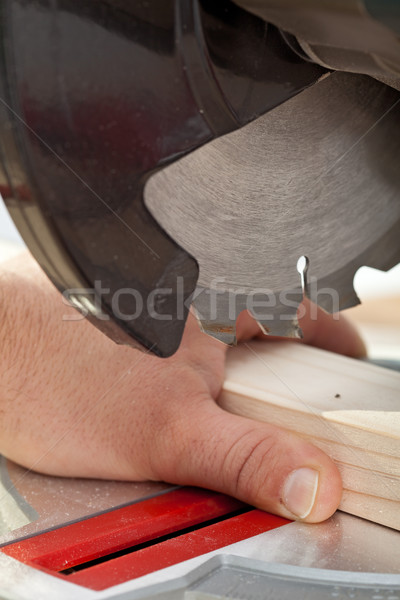 Labour safety concept Stock photo © lightkeeper