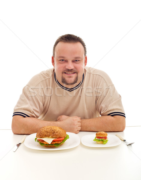 Size matters in diet Stock photo © lightkeeper