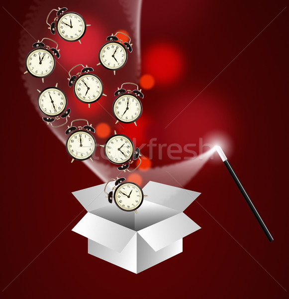 Time management concept Stock photo © lightkeeper