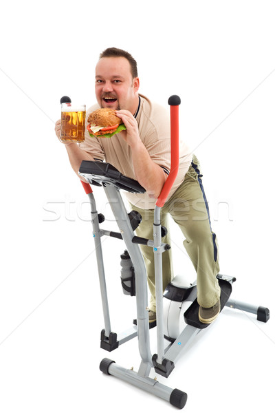 I love exercise Stock photo © lightkeeper