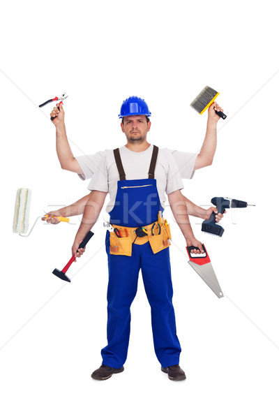 Handyman or worker - jack of all trades Stock photo © lightkeeper