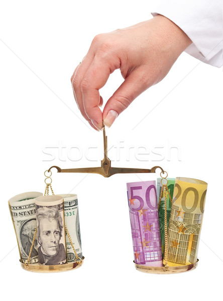 Currency exchange rates concept Stock photo © lightkeeper