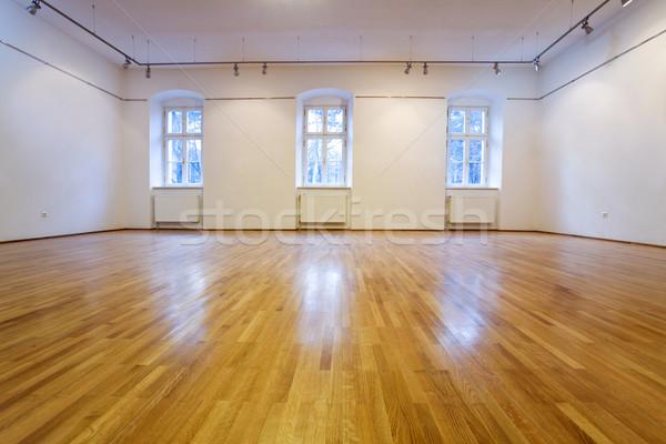 Empty exposition room Stock photo © lightkeeper