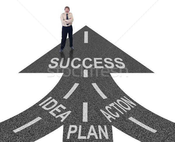 Stock photo: Road to success