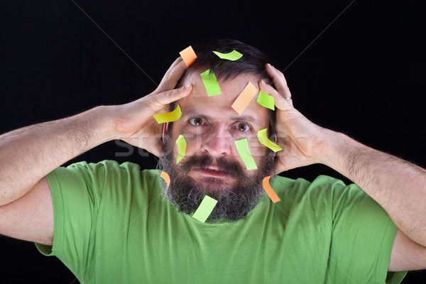 Сток-фото: человека · вещи · большой · борода