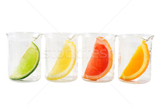 Food research - colorful citrus mix Stock photo © lightkeeper