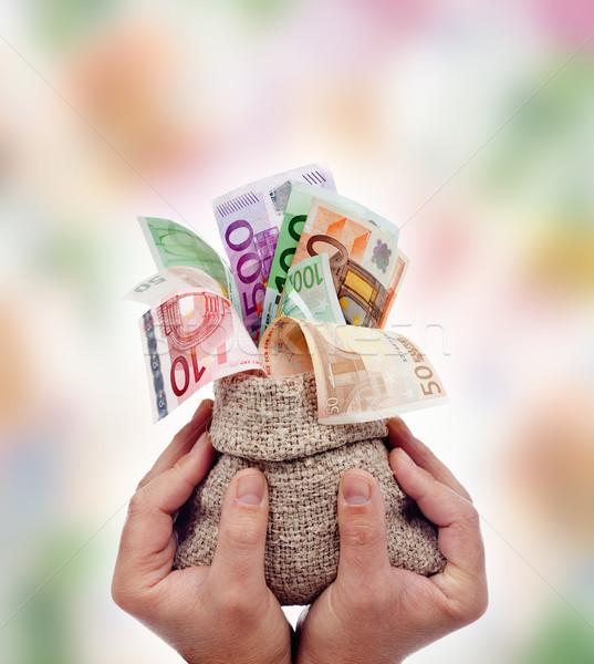 Slave of the money Stock photo © lightkeeper