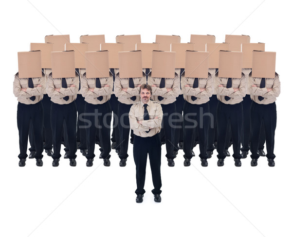 Business vision and leader concept Stock photo © lightkeeper