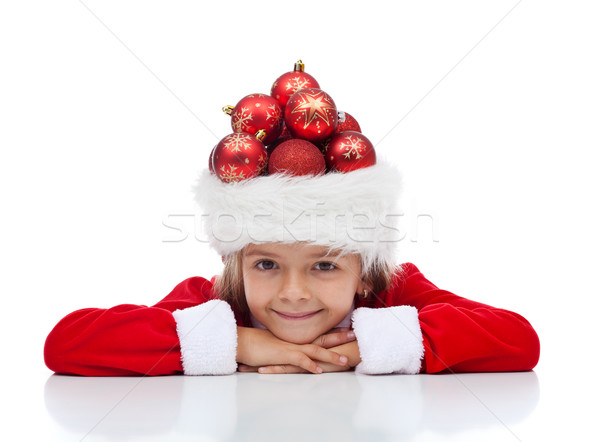 Noël célébration préparation peu Photo stock © lightkeeper