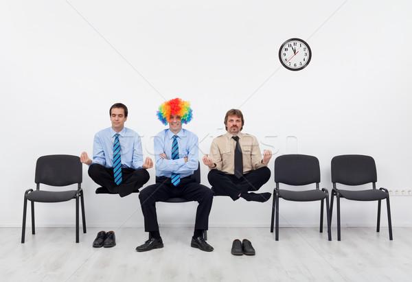 平均 候補者 仕事 珍しい ビジネス 電源 ストックフォト © lightkeeper