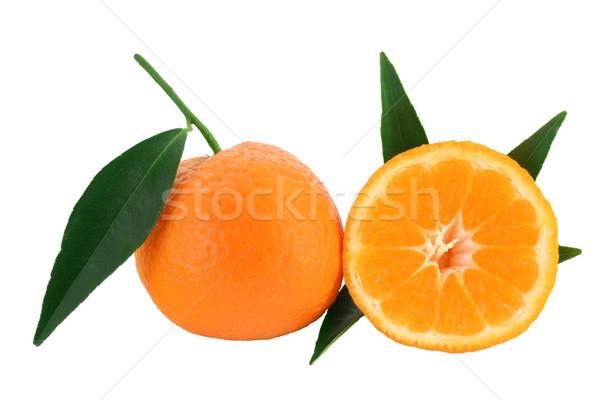 Mandarin orange - citrus reticulata Stock photo © lightkeeper