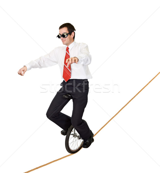 Extreme sport or reckless business Stock photo © lightkeeper