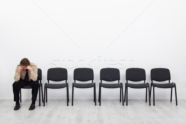 Lonely and desperate businessman Stock photo © lightkeeper