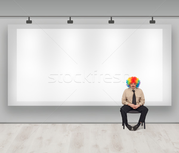 Copy space with clown Stock photo © lightkeeper