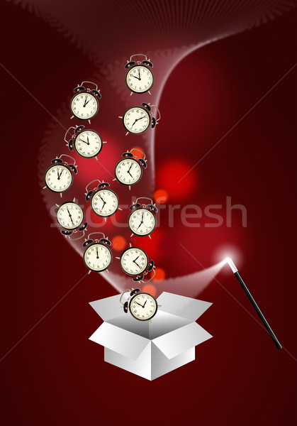 Time management system - out of the box Stock photo © lightkeeper