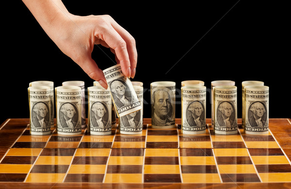 Money strategy Stock photo © lightkeeper