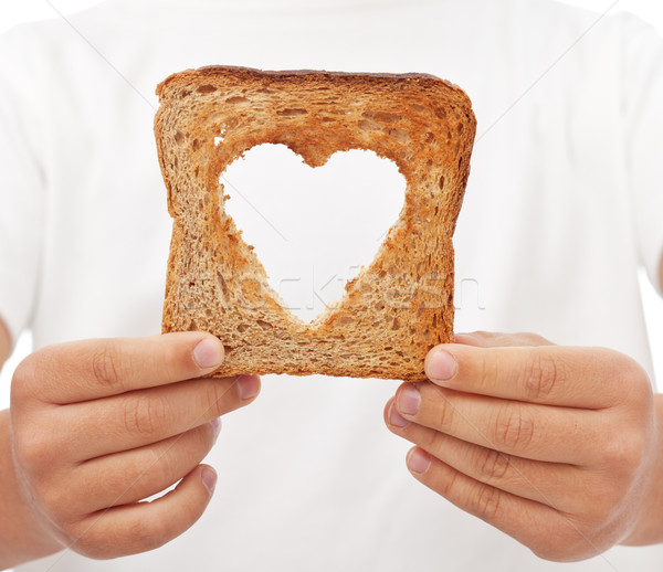 Sharing food with love Stock photo © lightkeeper