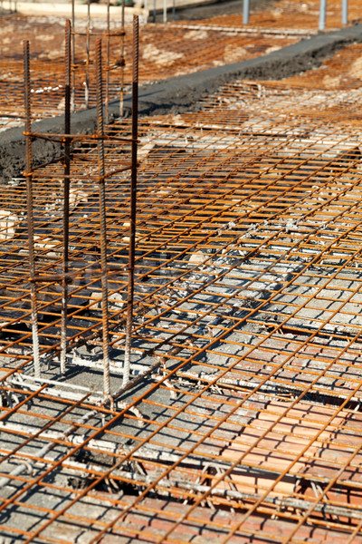 Construction site detail Stock photo © lightkeeper