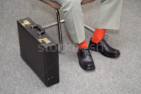 Colorido empresario espera informal candidato Foto stock © lightkeeper