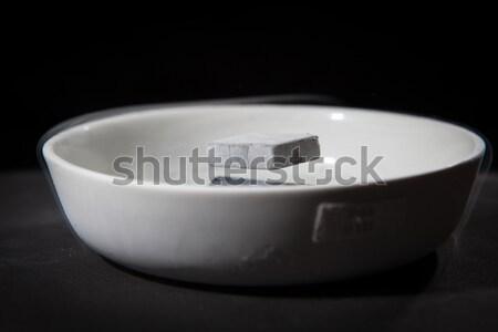 Fizik eylem deney malzemeler aşağı sıvı Stok fotoğraf © lightpoet