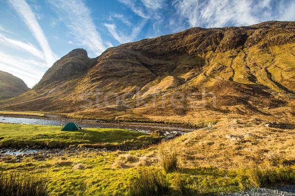 Glen Etive, Scottish Higland, Scotland, UK Stock photo © lightpoet