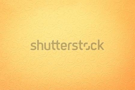 Sarı organik süsler doku dizayn yaprak Stok fotoğraf © lightpoet
