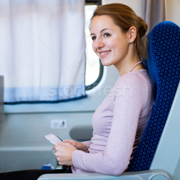 Сток-фото: поезд · билета · бизнеса
