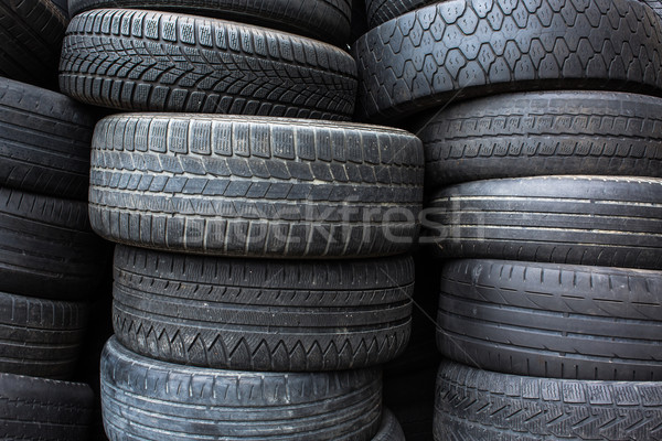 Tires for sale at a tire store Stock photo © lightpoet
