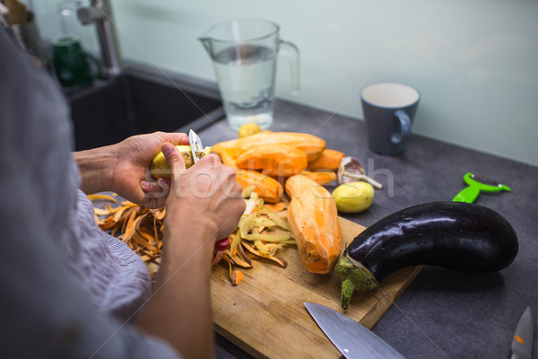 Cottura moderno cucina poco profondo Foto d'archivio © lightpoet