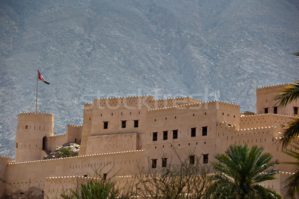 Fort Oman montagna architettura tropicali caldo Foto d'archivio © lightpoet