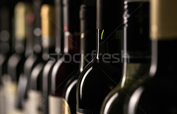 Bottles of wine Stock photo © lightpoet